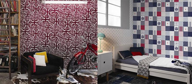Decoraci n y papeles pintados complementos textil for Decoracion papeles